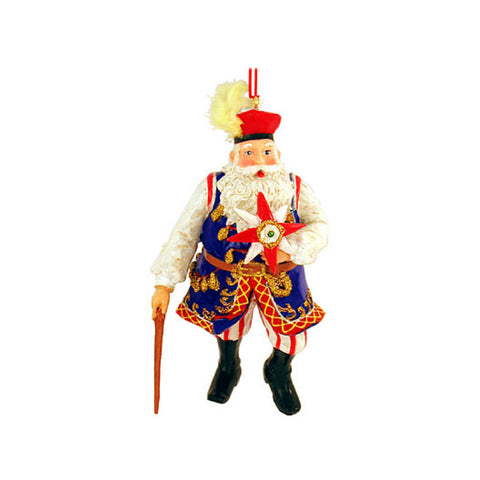 Polish Santa Claus Ornament