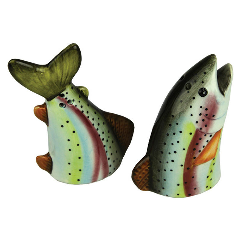 Rainbow Trout Salt and Pepper Shakers 2051