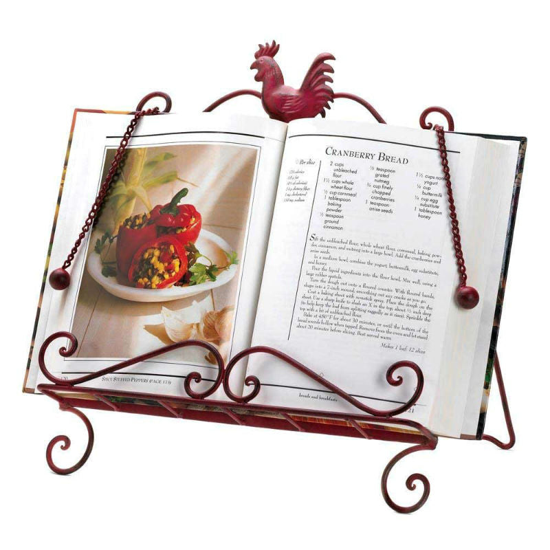 Red Rooster Cookbook Stand 10015878
