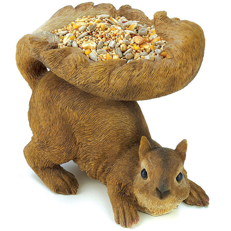Red Squirrel Bird Feeder 12785
