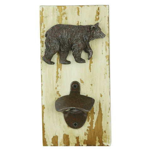 Rustic Bear Bottle Opener