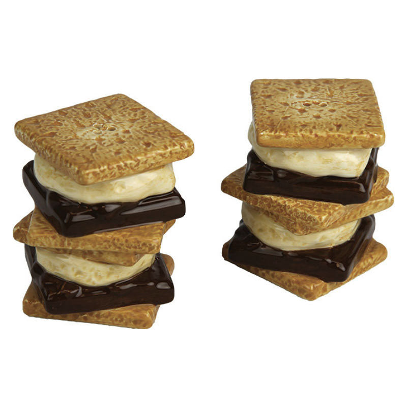 S'Mores Salt and Pepper Shakers 2065