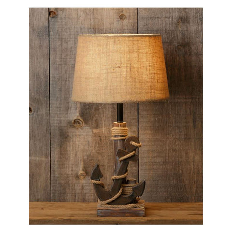 Sea Worthy Anchor Table Lamp