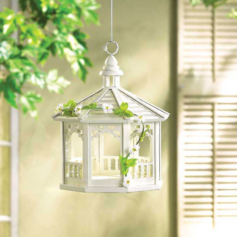Shabby Chic Gazebo Bird Feeder 30209