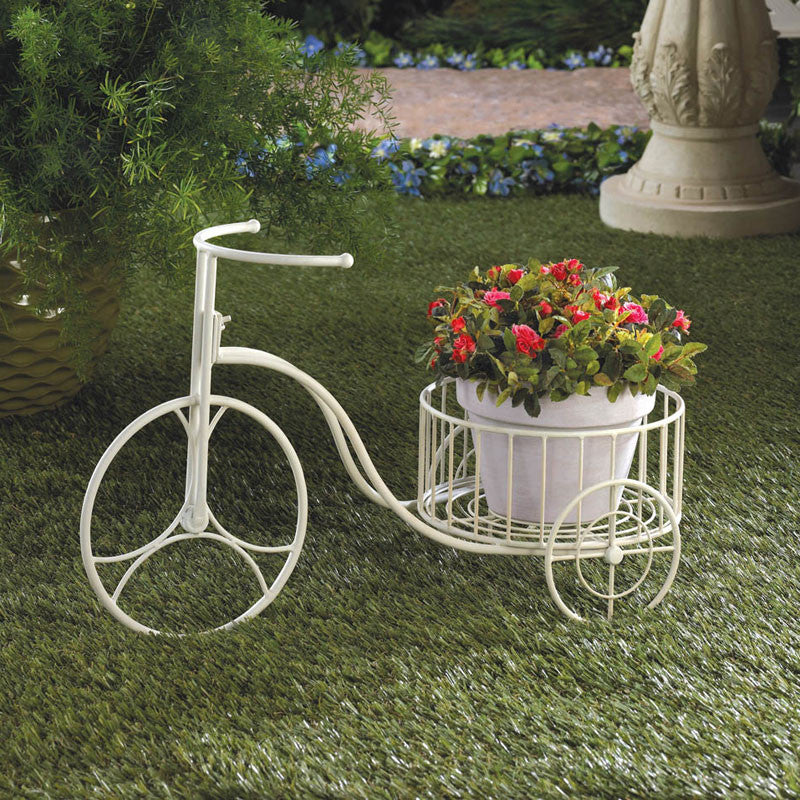Shabby Chic Tricycle Planter 10015694