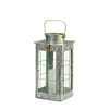 Small Farmhouse Galvanized Candle Lantern 10018813