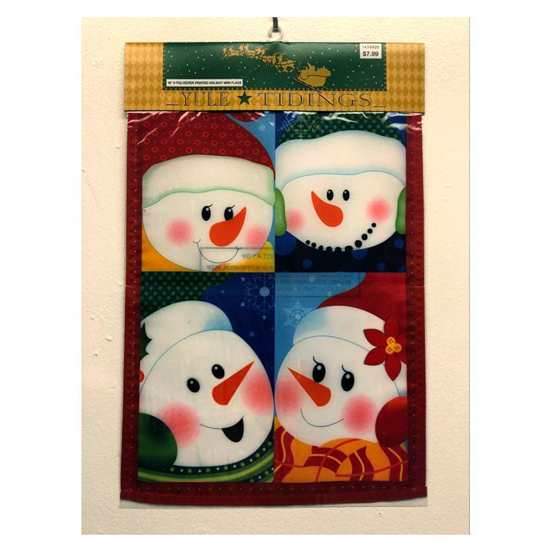 Snow Babies Mini Holiday Garden Flag 1419920E