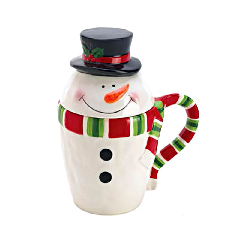 Snowman Covered Beverage Mug 15039