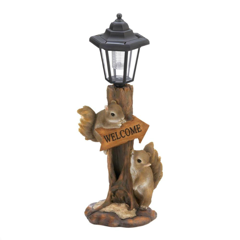 Squirrel Friends Solar Garden Lamp 10018808