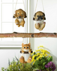 Swinging Pug Puppy Figurine