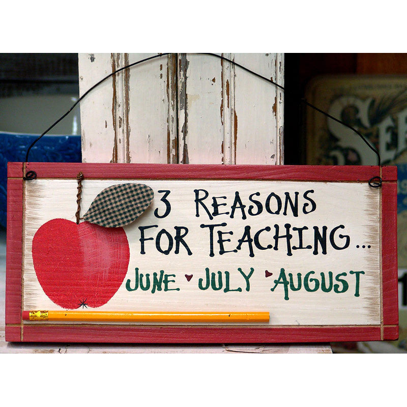 Three Reasons For Teaching Plaque 24691