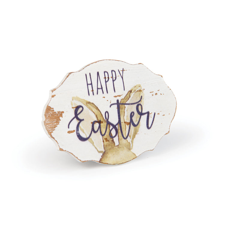 Watercolor Happy Easter Sign X47915