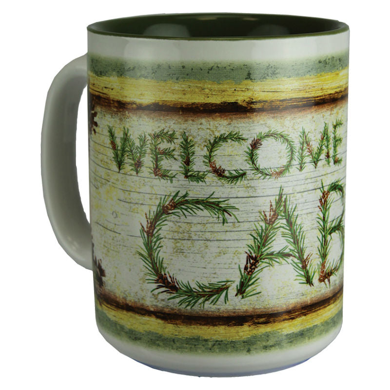 Welcome To The Cabin Beverage Mug 2458