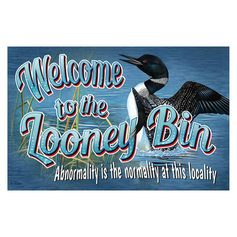 Welcome To The Looney Bin Door Mat