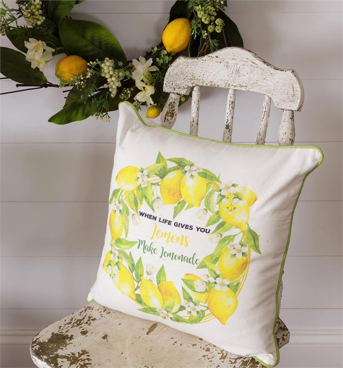 When Life Gives You Lemons Throw Pillow 8P5882