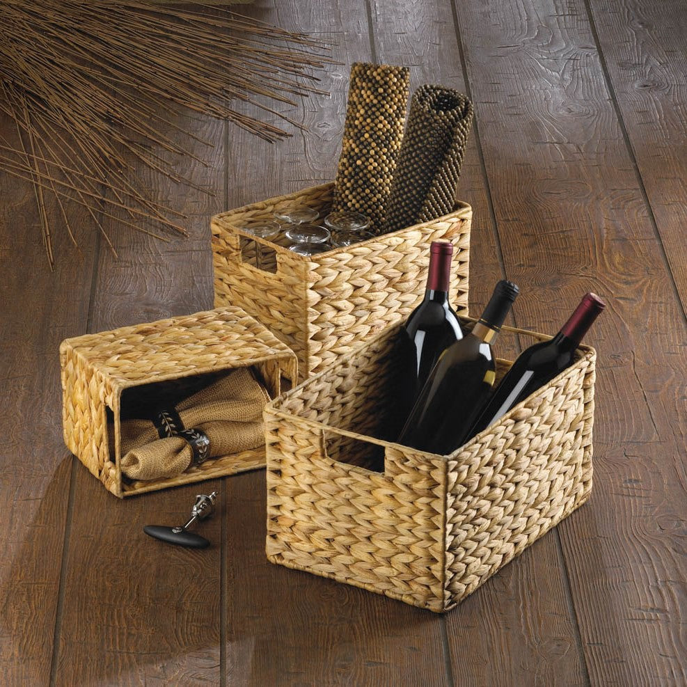 Woven Straw Nesting Baskets 10015228