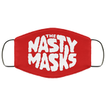Big Fat Logo Mask-Red