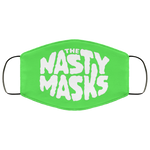 Big Fat Logo Mask- Green
