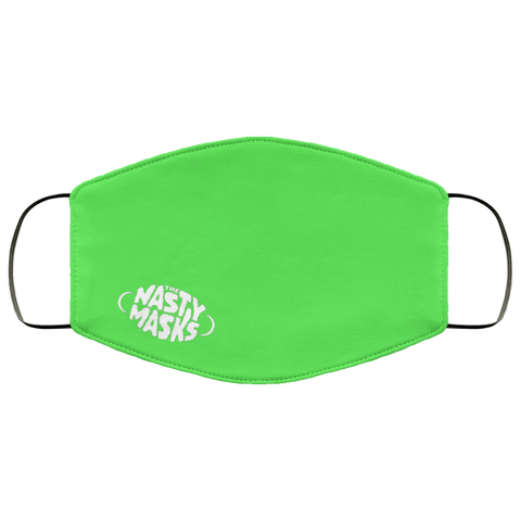 Super Basic Logo Mask- Green