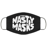 Big Fat Logo Mask- Black