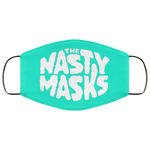 Big Fat Logo Mask- Blue