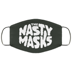 Big Fat Logo Mask- Grey