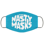 Big Fat Logo Mask-Blue