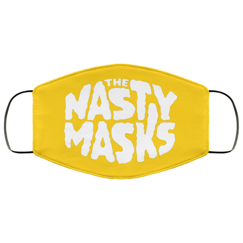 Big Fat Logo Mask- Yellow