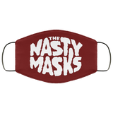 Big Fat Logo Mask- Red