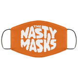 Big Fat Logo Mask- Orange