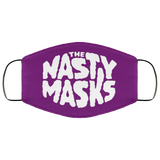 Big Fat Logo Mask- Purple