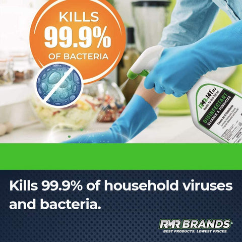 EPA Registered RMR Disinfecting Solution and Cleaner, Kills 99% of Household Bacteria and Viruses