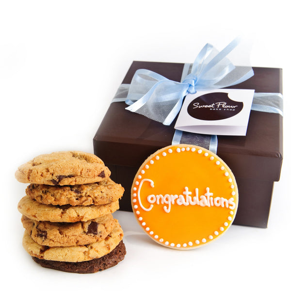 Congratulations Gourmet Cookie Gift Boxes
