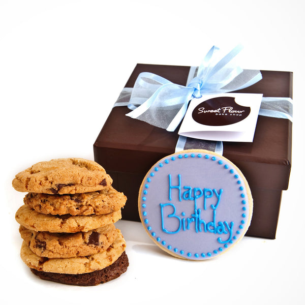 Happy Birthday Gourmet Cookie Gift Boxes