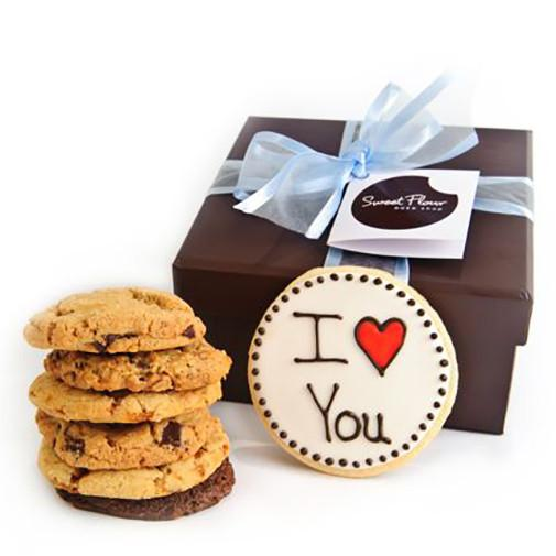 I Love You Gourmet Cookie Gift Boxes