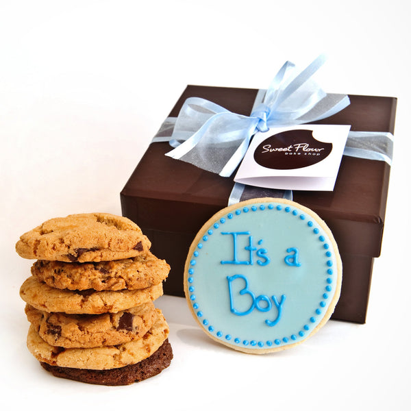 It's a Boy Gourmet Cookie Gift Boxes