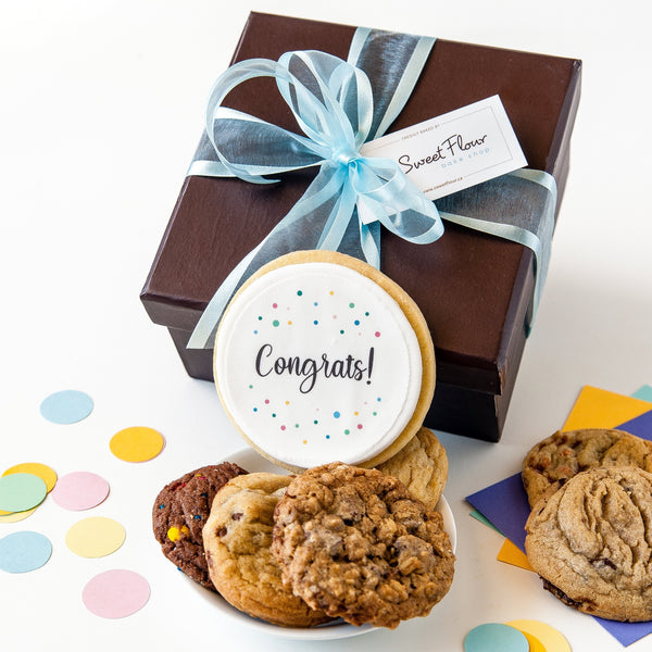 Congrats Cookie Gift Box