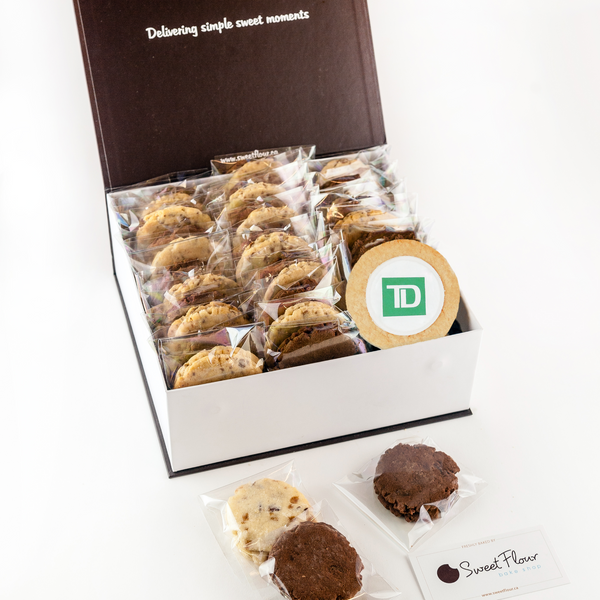 Classic Cookie Gift Crate with TD Logo Cookie