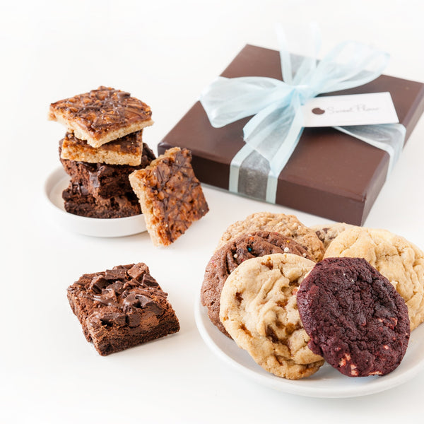 Gift Box of Brownies and Cookies