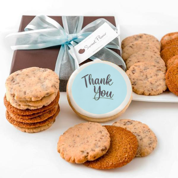 Crispy Cookie Gift Box with Thank You