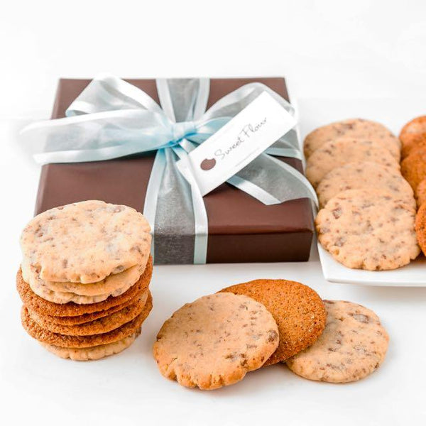 Crispy Cookie and buttery shortbread gift box