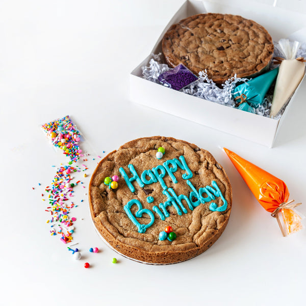 DIY Birthday Cookie Cake Kit