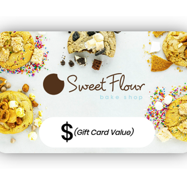Sweet Flour Gift Card with Cookie Design