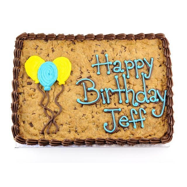 Giant Cookie Cake 12 X 16 Inch