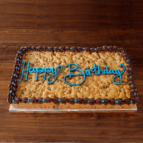 Giant Cookie Cake -12 X 16 Inch
