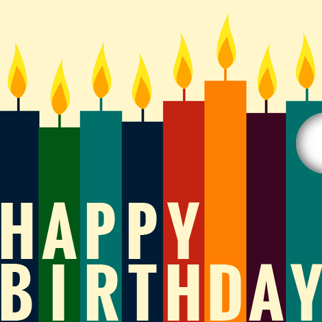 E-Gift Card with Happy Birthday Image