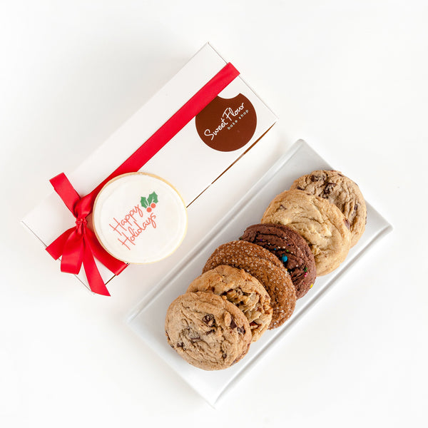 Happy Holidays Signature Cookie Gift Box
