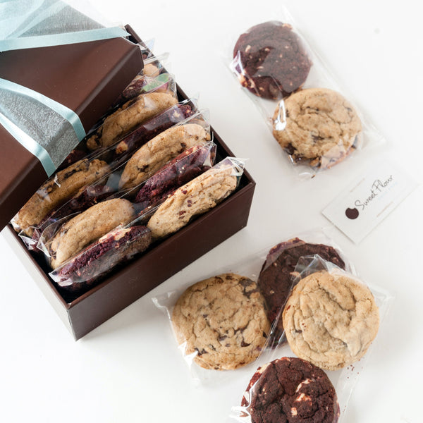Gourmet Cookie Box of Individually Packaged Cookies