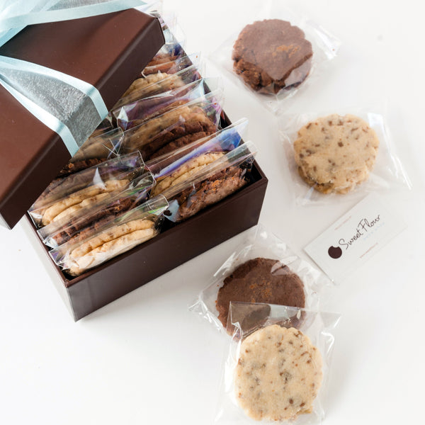 Individually Packaged Shortbread Cookie Gift Box