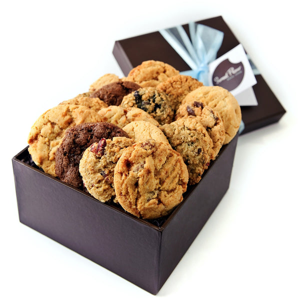 24 Gourmet Cookies in a Gift Box